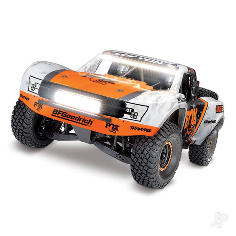 FOX Unlimited Desert Racer: 4WD Electric Race Truck RTR (+ TQi, VXL-6s, TSM)
