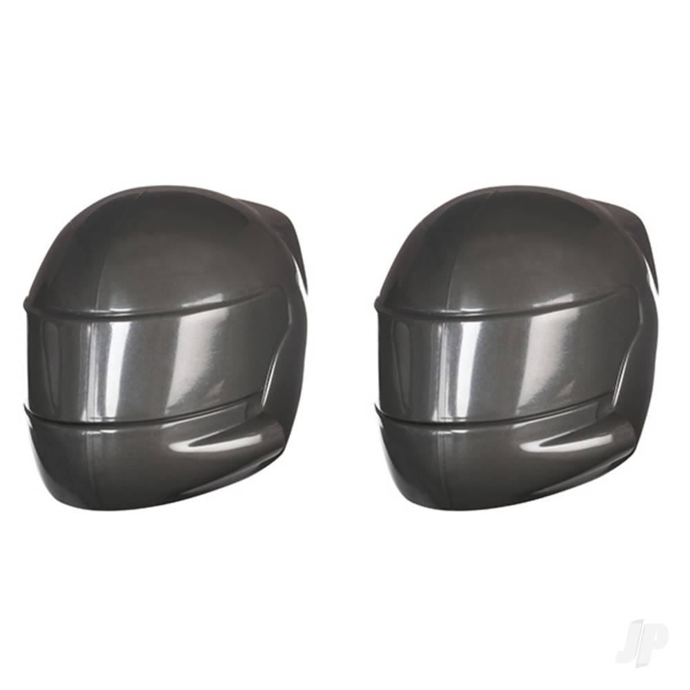 Driver helmet, grey (2pcs)