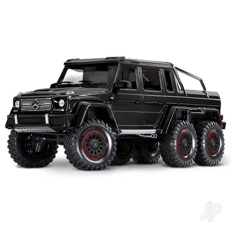 Gloss Black TRX-6 Mercedes-Benz G 63 AMG 1:10 6X6 Electric Trail Truck RTD (+ TQi , XL-5 HV, Titan 550)