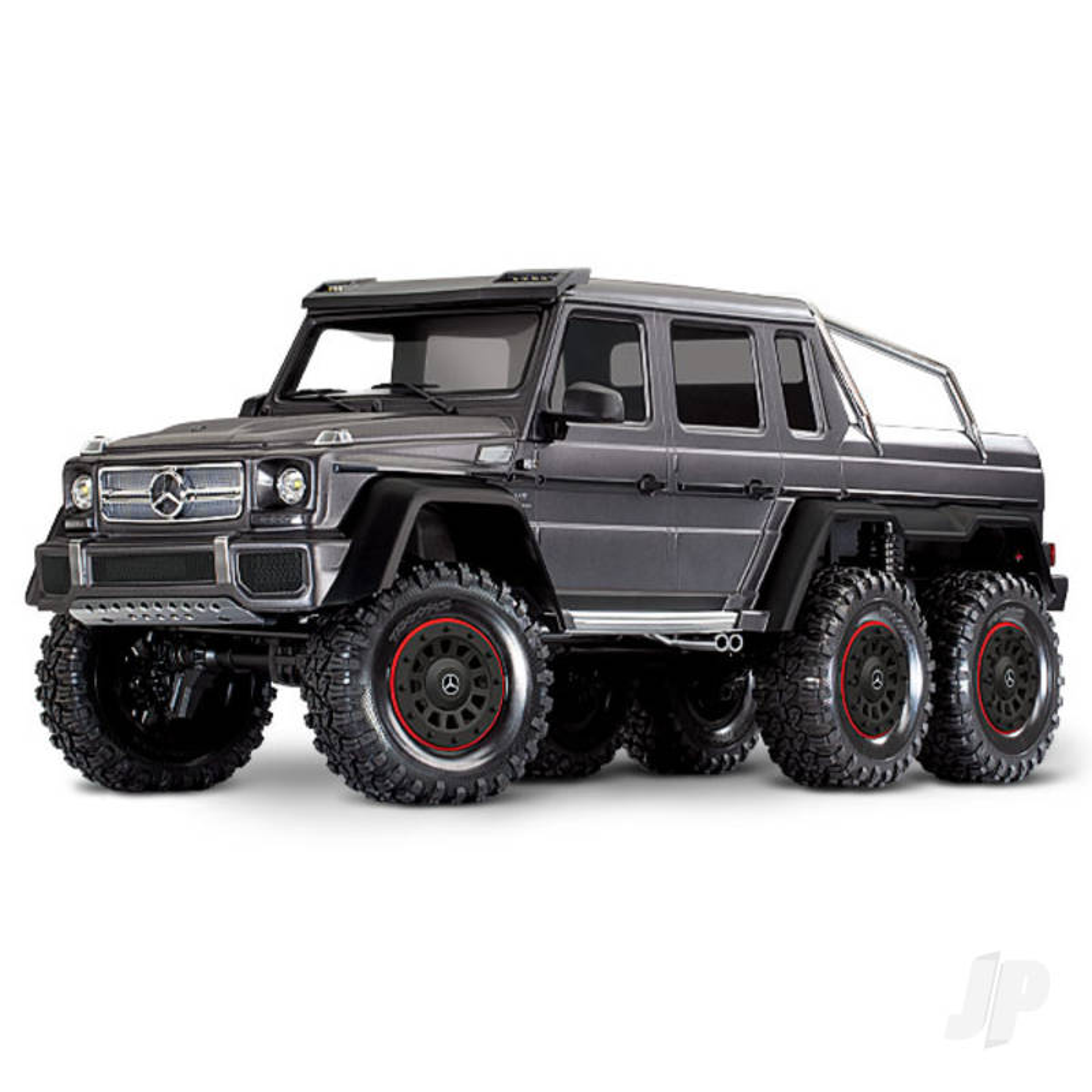 Matte Graphite TRX-6 Mercedes-Benz G 63 AMG 1:10 6X6 Electric Trail Truck RTD (+ TQi , XL-5 HV, Titan 550)