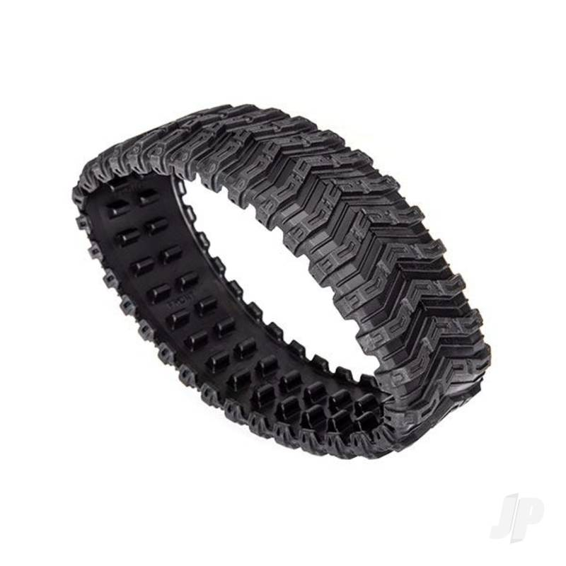 Treads, All-Terrain, TRX-4 Traxx (front, left or right) (rubber) (1pc)