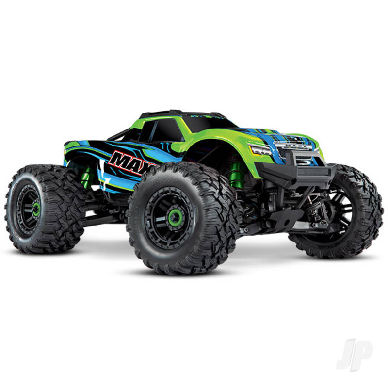Green Maxx 1:10 4WD Brushless Electric Monster Truck. Fully assembled, RTR, (+ TQi, TSM, VXL-4s, ProGraphix)