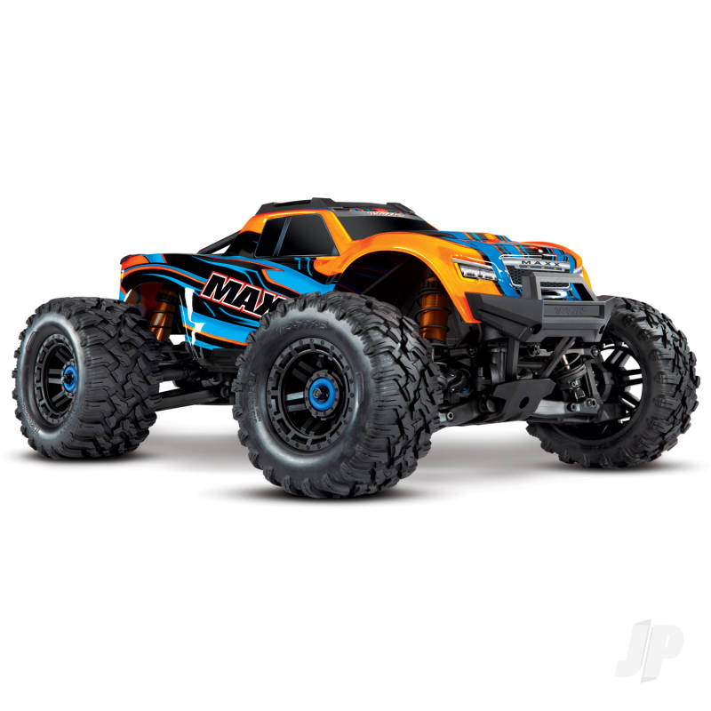 Orange Maxx 1:10 4WD Brushless Electric Monster Truck. Fully assembled, RTR, (+ TQi, TSM, VXL-4s, ProGraphix)