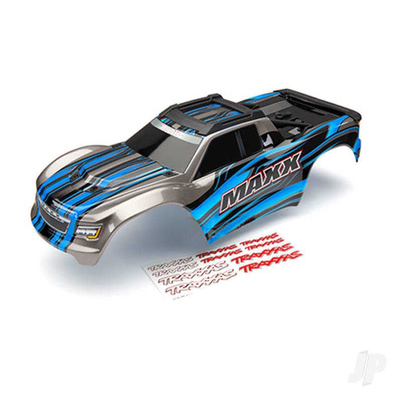 Body, Maxx, blue (painted) / decal sheet