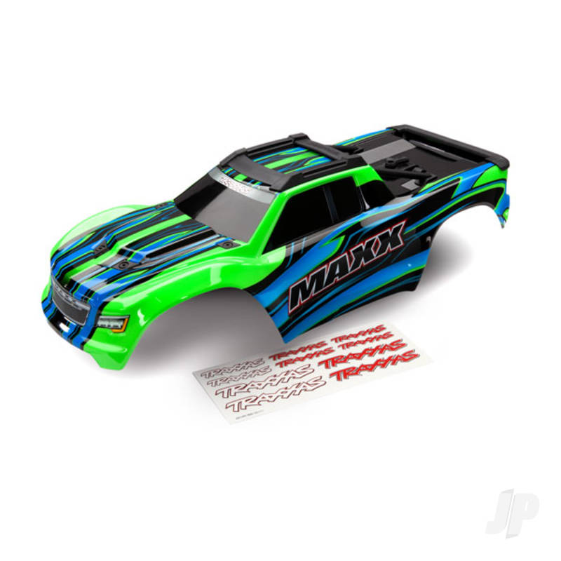 Body, Maxx, green (painted) / decal sheet