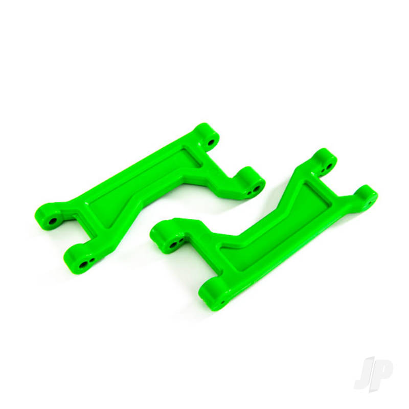 Suspension arms, upper, green (left or right, front or rear) (2pcs)