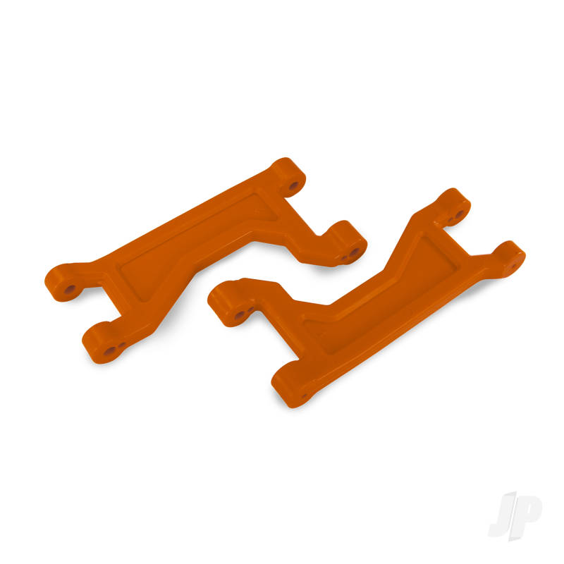 Suspension arms, upper, orange (left or right, front or rear) (2pcs)