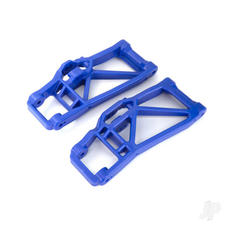 Suspension arm, lower, blue (left and right, front or rear) (2pcs)