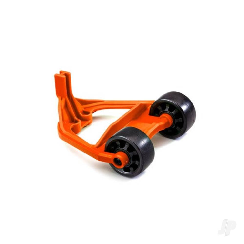 Wheelie bar, orange